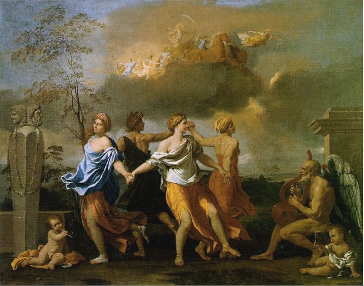 Poussin, Dance to the Music of Time