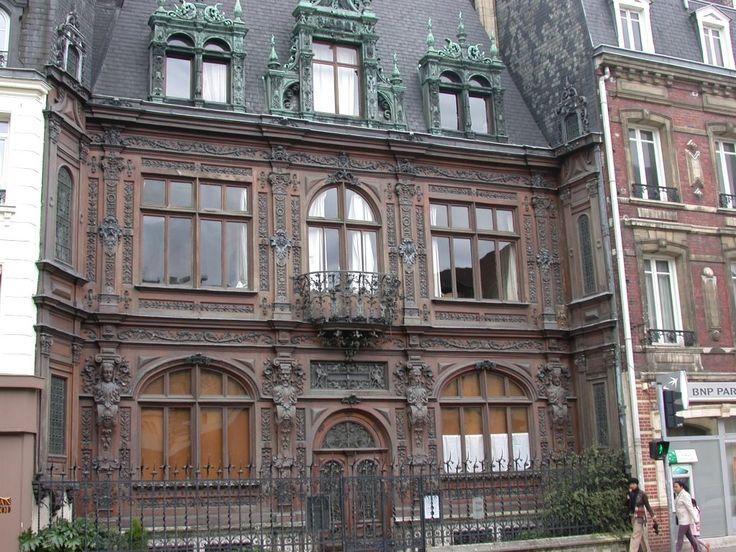 La Maison Marrou, rue Verte, près de la gare de Rouen