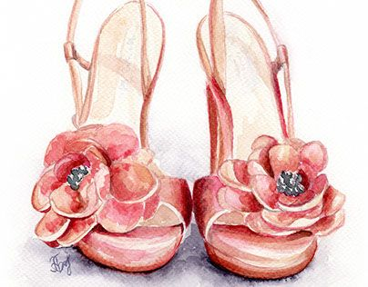 "Check out new work on my @Behance portfolio: ""Fashion shoes"" http://on.be.net/1kiSWNF"