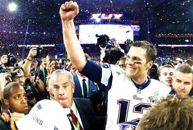 Tom Brady -- MVP 2015..........Getty Images