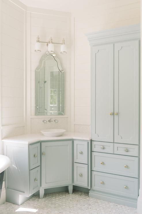 corner bathroom vanity on pinterest corner sink bathroom corner
