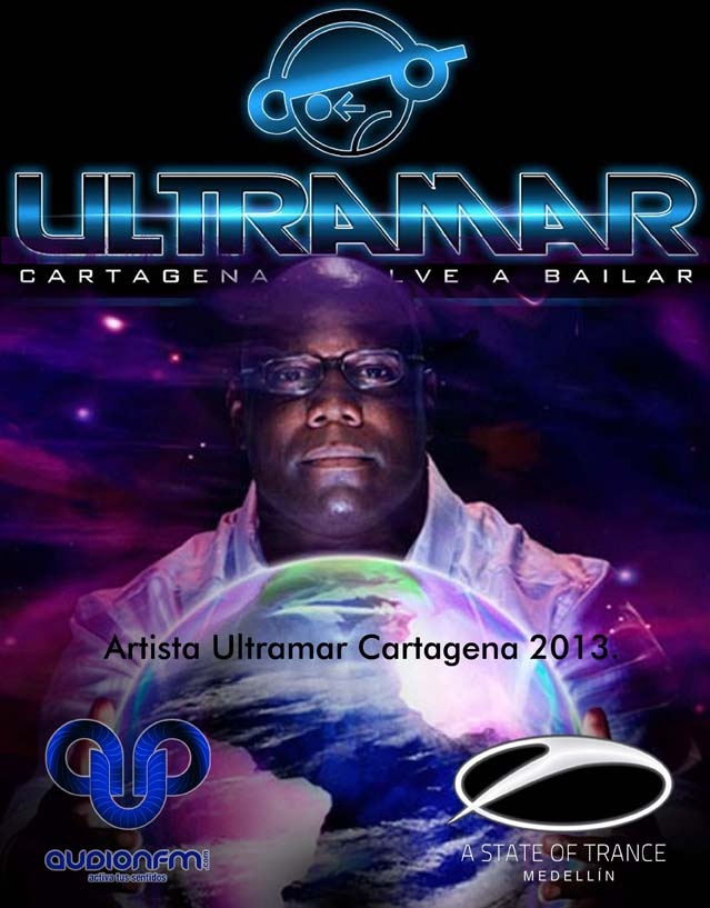 dj Car Cox, Ultramar festival cartagena 2013.