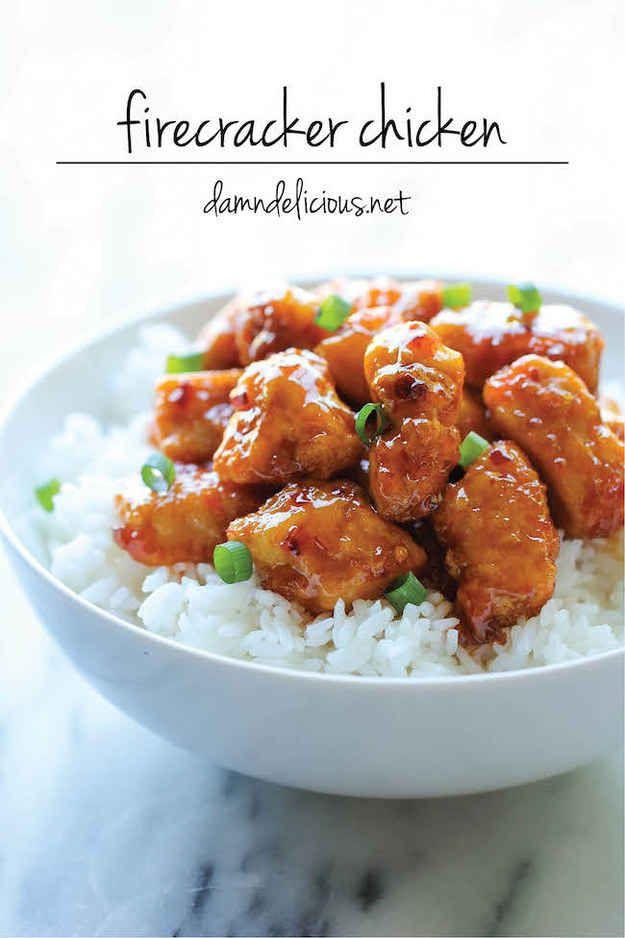 Firecracker Chicken | 7 Quick Dinners To Cook This Week