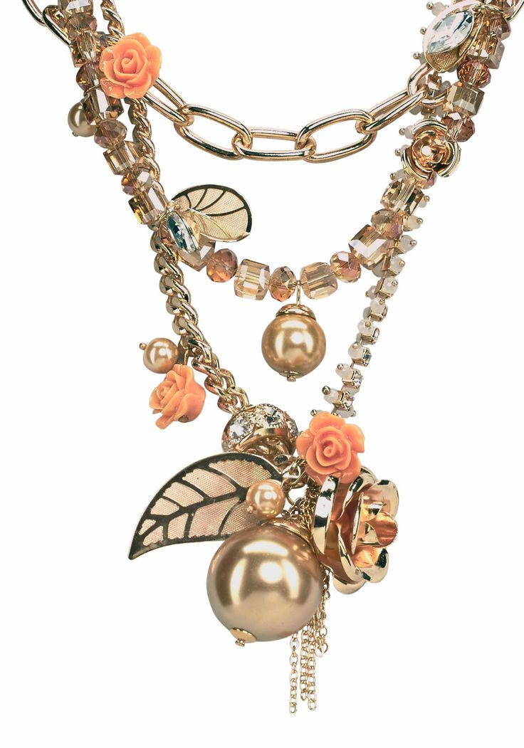 J. Jayz Kette »mit kleinen Rosen« online kaufen | OTTO