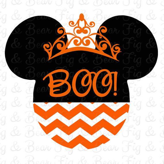 Halloween Disney Minnie Mouse hierro en por FIGandBEAR en Etsy