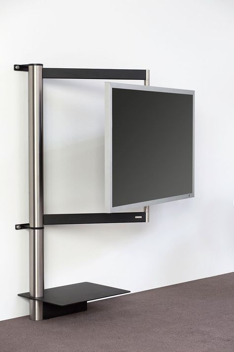 tv mount stand swivel function for perfect view from any place concealed cable management tv halterung wandhalterung durch das funktionelle design - Motorisierte Tvhalterung Unter Dem Bett
