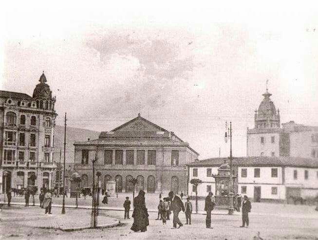 Plaza de la escalera. 1905