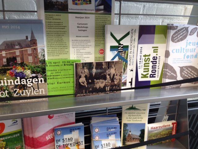 OverOns kaarten gespot bij de bibliotheek van Maarssenbroek