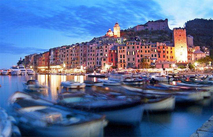 Porto Venere, Italy. I said I would one day get married on this beautiful town on the Mediterranean.