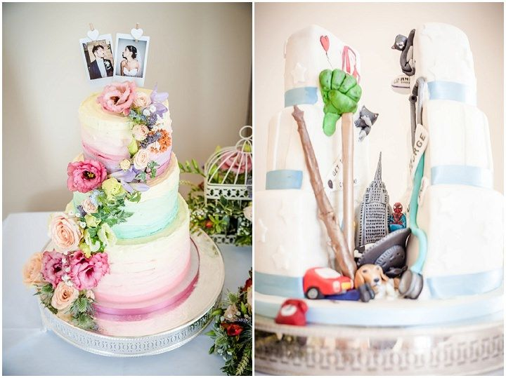 Guy and Rashael's Shabby Chic meets Marvel Comics Wedding By Dewan Demmer Photography