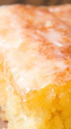 Pineapple Crush Jello Cake