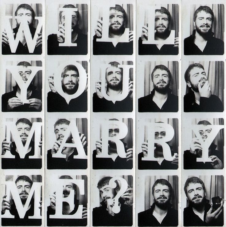 Photo booth proposal - #cute #engagement #ideas