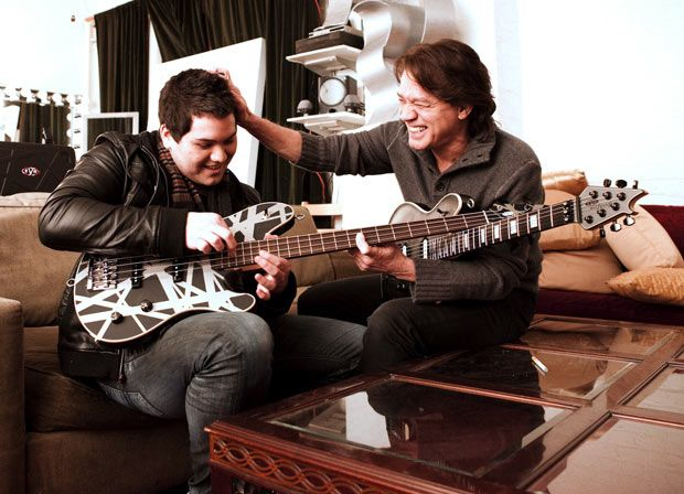 Edward & Wolfgang Van Halen