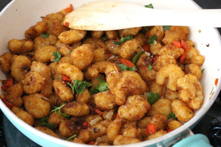 Creamy Shrimp Enchiladas - Step 3
