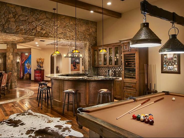 10 Must Have Items For The Ultimate Man Cave | Men Cave, Farm House And  Basements
