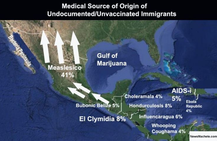 What Kinds Of Diseases Are Undocumented Immigrants Bringing In?What Kinds Of Diseases Are Undocumented Immigrants Bringing In? Could the open border be contributing to all these new mystery diseases?