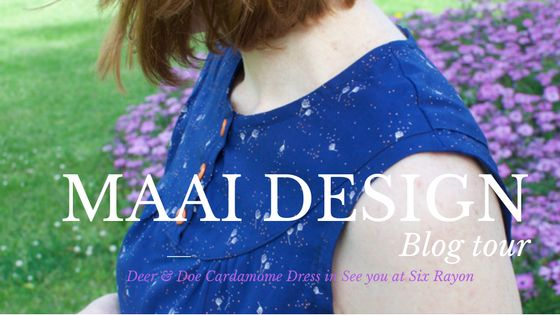 A Me Made Deer & Doe Cardamome dress for Maai Design Blog Tour | UsefulBox - Make, Sew & Gather. Sewing Lessons & Workshops in Sydney