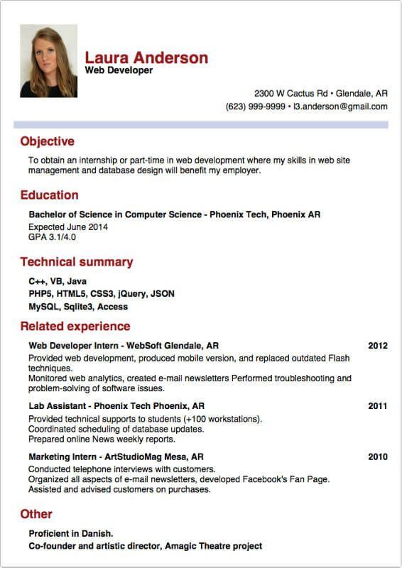 The 25+ best Examples of curriculum vitae ideas on Pinterest - how to write a theatre resume