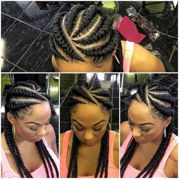 Pleasing 1000 Ideas About Black Braided Hairstyles On Pinterest Braided Hairstyle Inspiration Daily Dogsangcom
