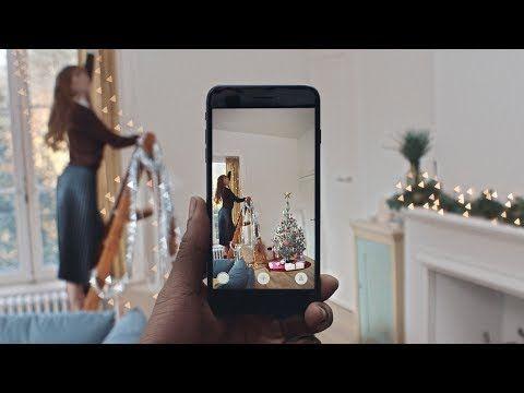 IKEA te enseña el mejor sitio para poner el árbol de Navidad con su app de realidad aumentada - La Criatura Creativa
