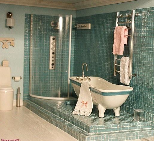 mini bathroom