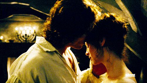 The 20 Most Satisfying Kisses In Tv History  Outlander Tv -6549