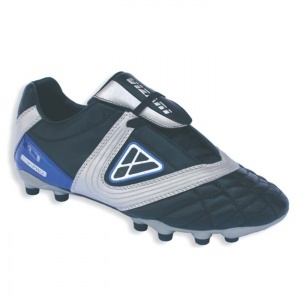 SALE - Vizari V Pro Soccer Cleats Kids Black Leather - Was $36.99 - SAVE $4.00. BUY Now - ONLY $32.99