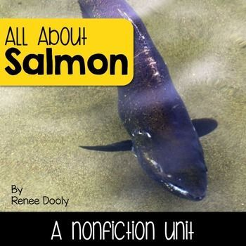 This is a comprehensive nonfiction unit on salmon. This pack includes reading passages, graphic organizers, writing resources and many other goodies for your salmon studies.