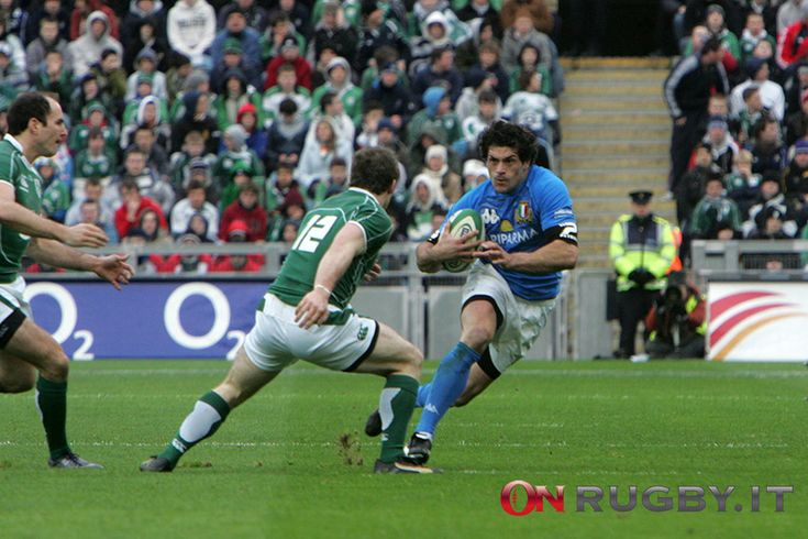 Fotogallery: Andrea Masi, scatti di una carriera in azzurro - On Rugby