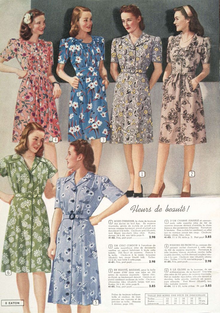 Charming Warm Weather Vintage Inspired Frocks Featuring: 78 Best Images About 1940 Fashion On Pinterest