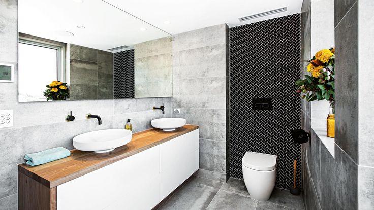 The Block #roomreveals: Dean & Shay's bathroom.