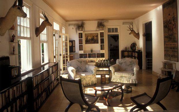 Ernest Hemingway's Cuba house, Finca La Vigia, to be preserved.