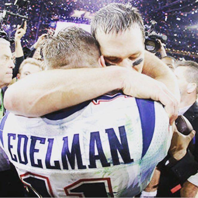 Tom Brady Posts Tribute To 'Gladiator' Julian Edelman After ACL Injury