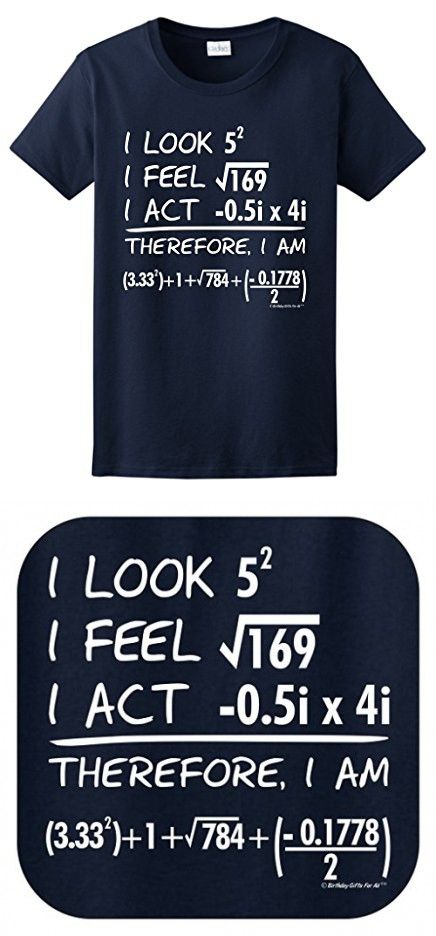 3348bd4c 40th Birthday Gifts For All STEM Math Equation Ladies T-Shirt in ...