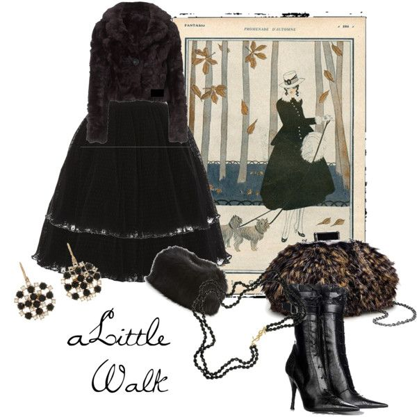 """A Little Walk"" by moodycat on Polyvore"