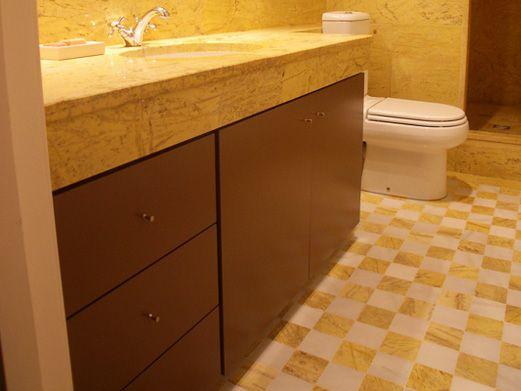 Bajo lavabo acabado lacado color chocolate diaco fabrica - Muebles de bano de madera ...