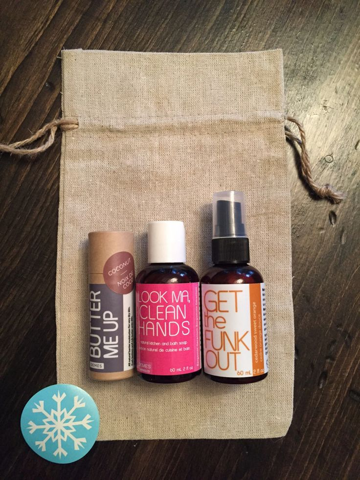 Our annual stocking stuffer trio is a great gift for anyone who loves natural, vegan, eco-conscious products! 3 DEMES products in full & travel sizes.
