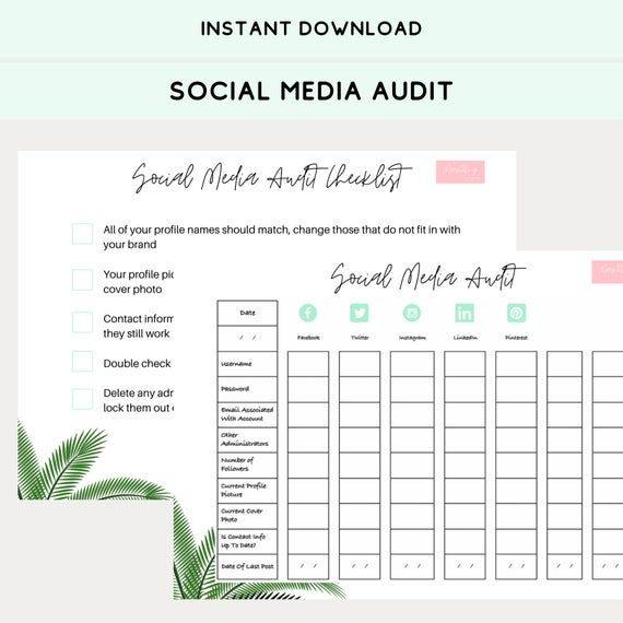 21 Social Media Audit Template Social Media Profile Template Lovely Blank Timeline Call To Actio Social Media Planning Social Media Free Social Media Templates