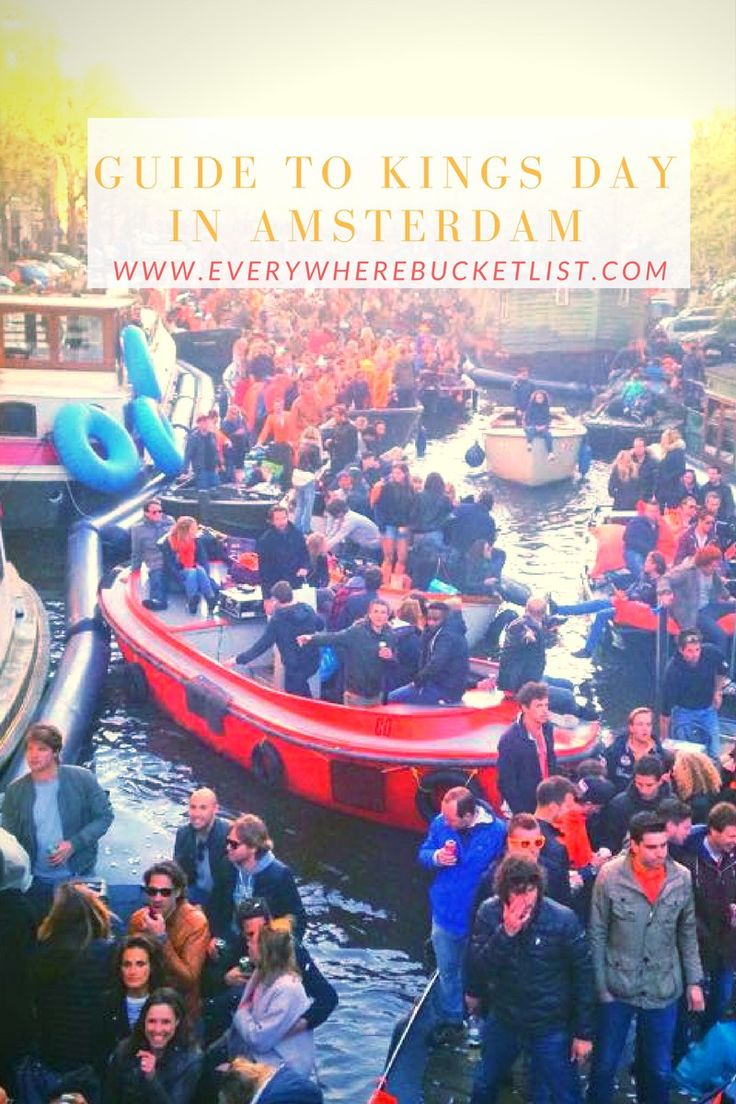 Make the most of your Kings Day in Amsterdam with this handy guide!