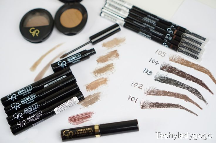 Golden Rose Cosmetics Eyebrow Products