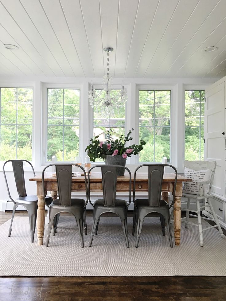 Cottage Farmhouse Features From Foxhollowfridayfavs Dining RoomsFarmhouse
