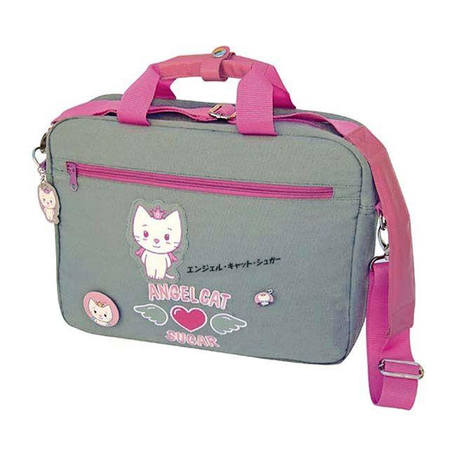 Un sac ordinateur pour femme, 100% coton - Sacoche PC portable originale de marque Angel Cat Sugar le petit chat du Japon - Sac à main élégant et pratique  http://www.lamaisontendance.fr/catalogue/sac-ordinateur-femme-design-angel-cat-sugar/  #sacàmain #sac #bagage #bagagerie #sacoche #sacfemme #angelcatsugar #kitty #chat