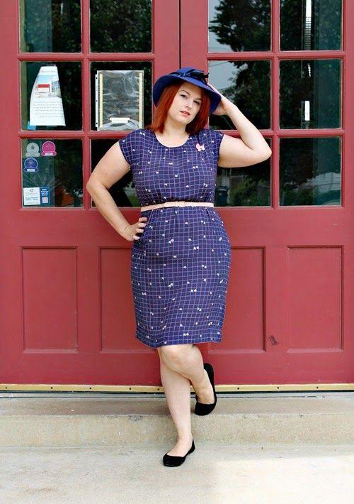1960s shift dress via Va-Voom Vintage / Pink Vintage stoller brooch