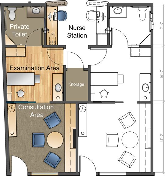 9 best hospital plans images on pinterest for X ray room floor plan