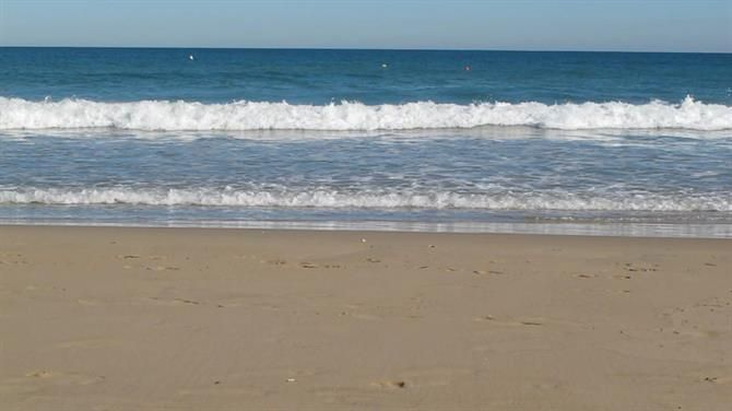 Playa de los Naufragos à Torrevieja, Alicante - Costa Blanca (Espagne)