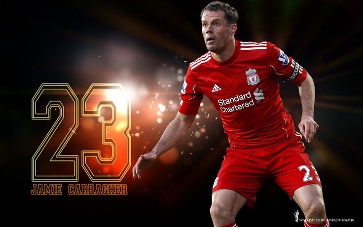 Jamie Carragher. The Backbone of the LFC defence for more than 10 years.