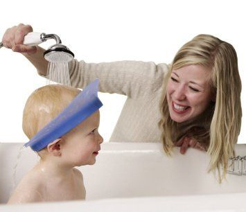 KAIR Air Cushioned Bath Visor / Shower Visor /Shampoo Visor / Shampoo Shield / Baby Shower Cap