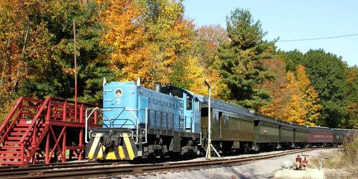 Five Scenic Fall Train Rides in Wisconsin | Travel Wisconsin  #2 Mid-Continental Steam Train Autumn Color Tours   #4 Riverside & Great Northern Railway