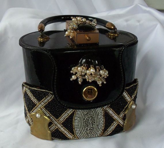 Hollywood Evening Purse Vintage Couture