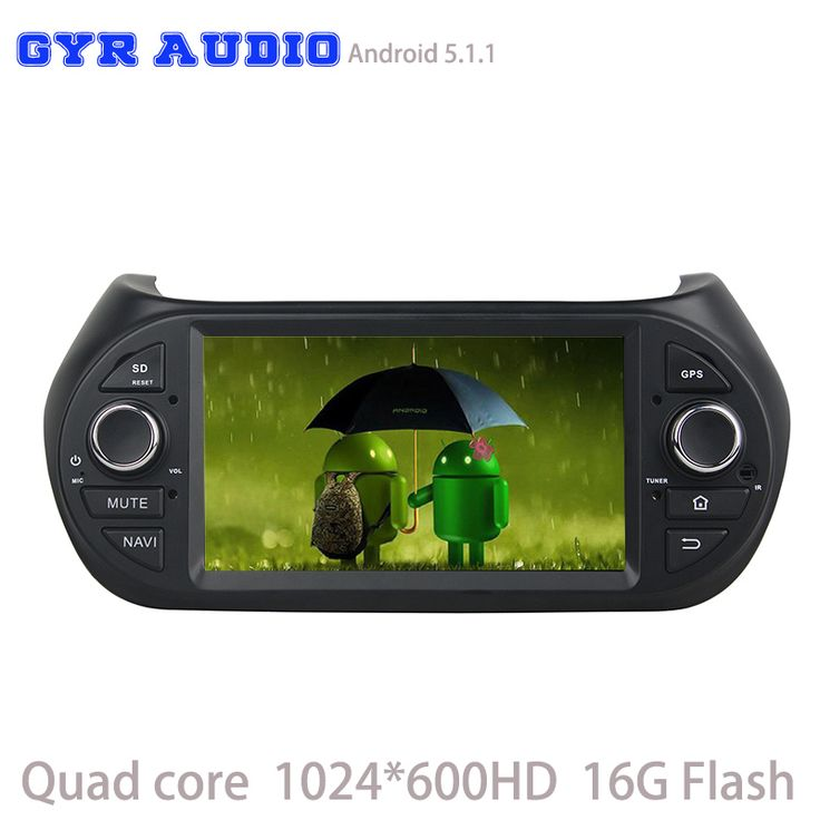 Android 5.1 Car GPS player for fiat Fiorino Citroen Nemo Peugeot Bipper with Quad Core Radio RDS 3G Wifi usb Mirror-Link usb